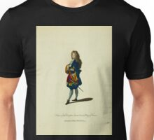 Habit of the dauphin son to Louis XIV King of France Le dauphin de France fils de Louis XIV 388 Unisex T-Shirt