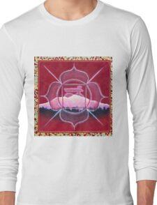 1st Chakra- Muladhara Root - Mandala Long Sleeve T-Shirt