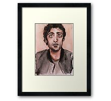 Oscar Isaac / Poe Dameron Framed Print