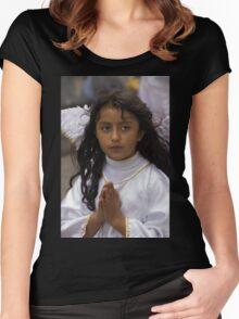 Cuenca Kids 830 Women's Fitted Scoop T-Shirt
