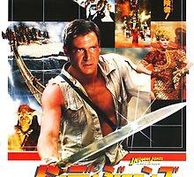 Indiana Jones Temple of Doom by CaptainCurt
