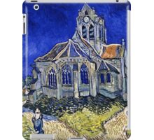 Vincent Van Gogh -  Church In Auvers Sur Oise, View From  Chevet 1890  iPad Case/Skin