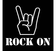 Rock On Photographic Print