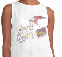 Stories are for eternity Contrast Tank