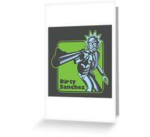 Dirty Sanchez Greeting Card