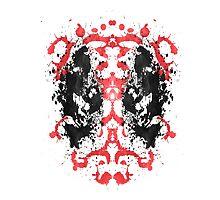 Deadpool Rorschach (Marvel) by SlapdashJohnson