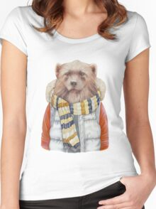 Winter Wolverine Women's Fitted Scoop T-Shirt