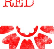 the order of the red lotus Sticker