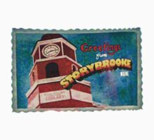 Greetings From Storybrooke Post Card by Equitas