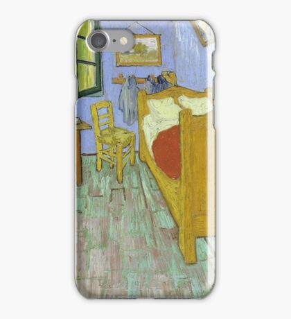 Vincent Van Gogh - Vincents Bedroom In Arles, 1889 iPhone Case/Skin