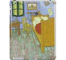 Vincent Van Gogh - Vincents Bedroom In Arles, 1889 iPad Case/Skin