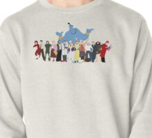 NO BACKGROUND Even More Minimalist Robin Williams Character Tribute Pullover