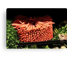 Carrots ~ Go Round and Round Canvas Print