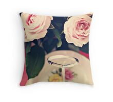 Cupcakes all gone! Throw Pillow