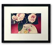 Cupcakes all gone! Framed Print