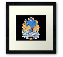 Great Genie Framed Print