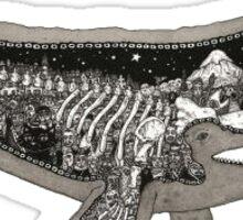 whale tale Sticker