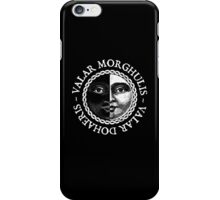 Valar Morghulis, Valar Dohaeris (White) iPhone Case/Skin