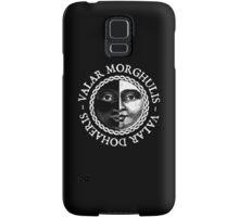 Valar Morghulis, Valar Dohaeris (White) Samsung Galaxy Case/Skin