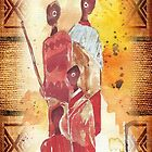 African Indaba - Ethnic series by Maree  Clarkson