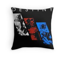 Destiny Fireteam Throw Pillow