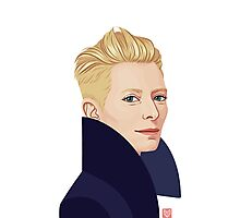 Tilda Swinton Photographic Print