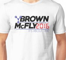 Brown McFly 2016 Unisex T-Shirt