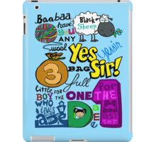 black sheep iPad Case/Skin