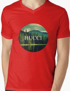 Hucci forest vibes Mens V-Neck T-Shirt