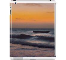 Small Boat at Sea Jericoacoara Brazil iPad Case/Skin