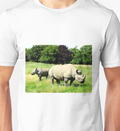 Black Rhinos Unisex T-Shirt
