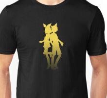 Kagemine Rin and Len Minimalist Fade Unisex T-Shirt