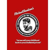Michael Davidson's Comics 'n Things - Red Tornado edition Photographic Print
