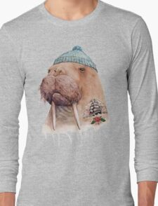 Tattooed Walrus Long Sleeve T-Shirt