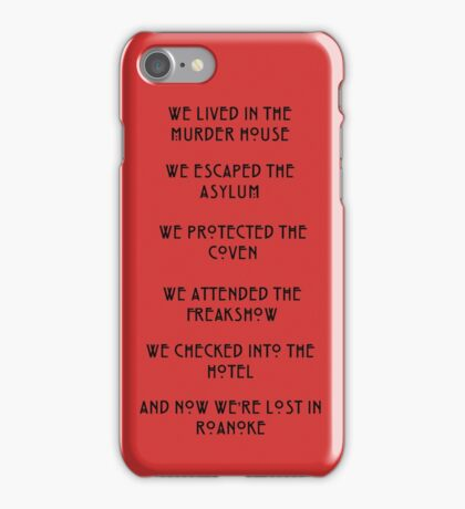 The Lost Colony. iPhone Case/Skin