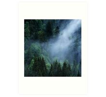 The Cloud Veil... Art Print
