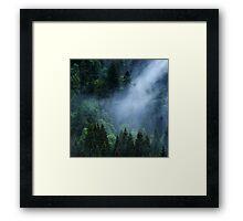 The Cloud Veil... Framed Print