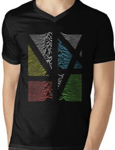 New Division Mens V-Neck T-Shirt