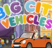 Big City Vehicles  Sticker