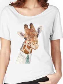 Male Giraffe Women's Relaxed Fit T-Shirt