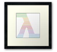 λλλ Lambda Pride λλλ Framed Print