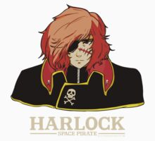 Captain Harlock Kids Tee