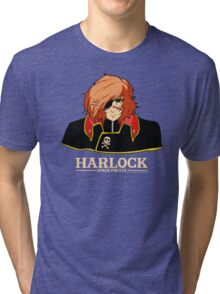Captain Harlock Tri-blend T-Shirt
