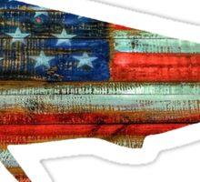 Mahi Mahi USA Merica Dolphin Sticker