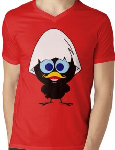 Black chicken Mens V-Neck T-Shirt