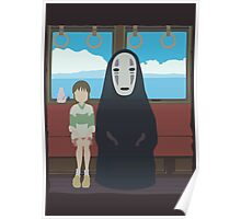 No Face Train Poster