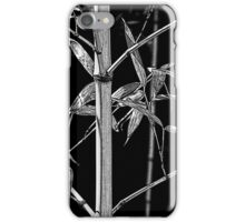 Bamboo sumi-e iPhone Case/Skin