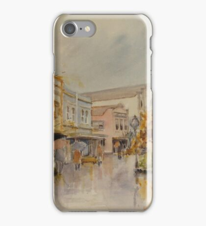 The Quadrant, Launceston by Muriel Sluce iPhone Case/Skin