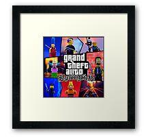 GTA Springfield Framed Print