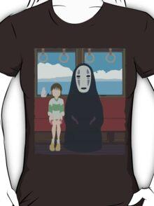 No Face Train T-Shirt